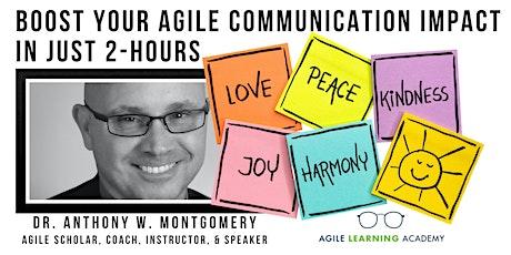 Agile Communication Master Class biglietti