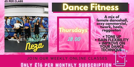 Sweat it Out Thursdays - female dancehall, sexy commercial, twerk,reggaeton tickets