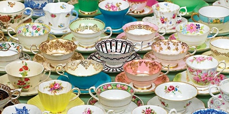 """""""Strands of Pearls Virtual Tea; Long life with Riches and Honor"""" billets"""