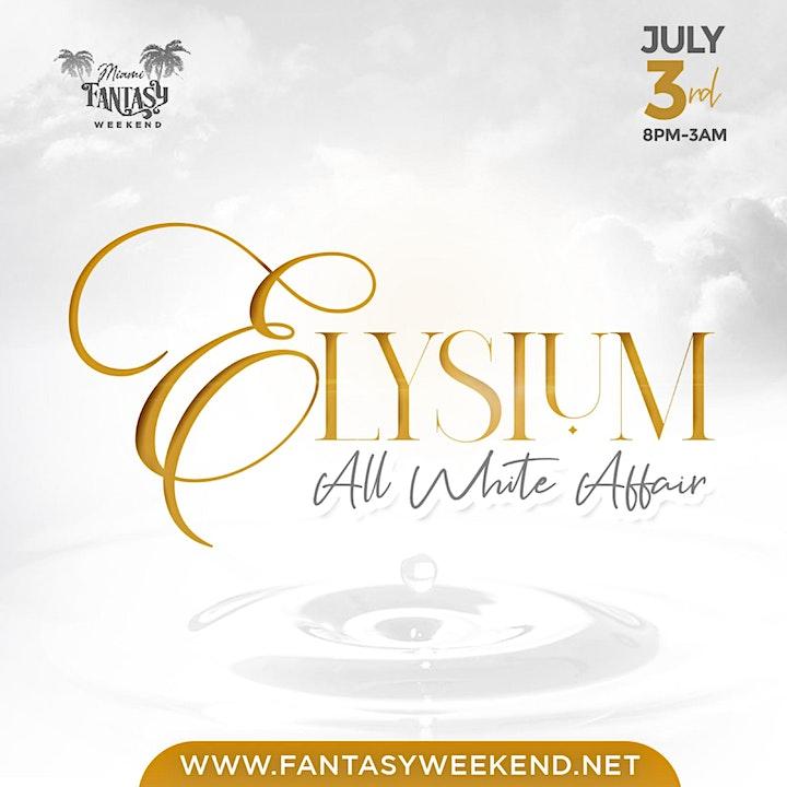 Event #2  ELYSIUM   - ALL WHITE image