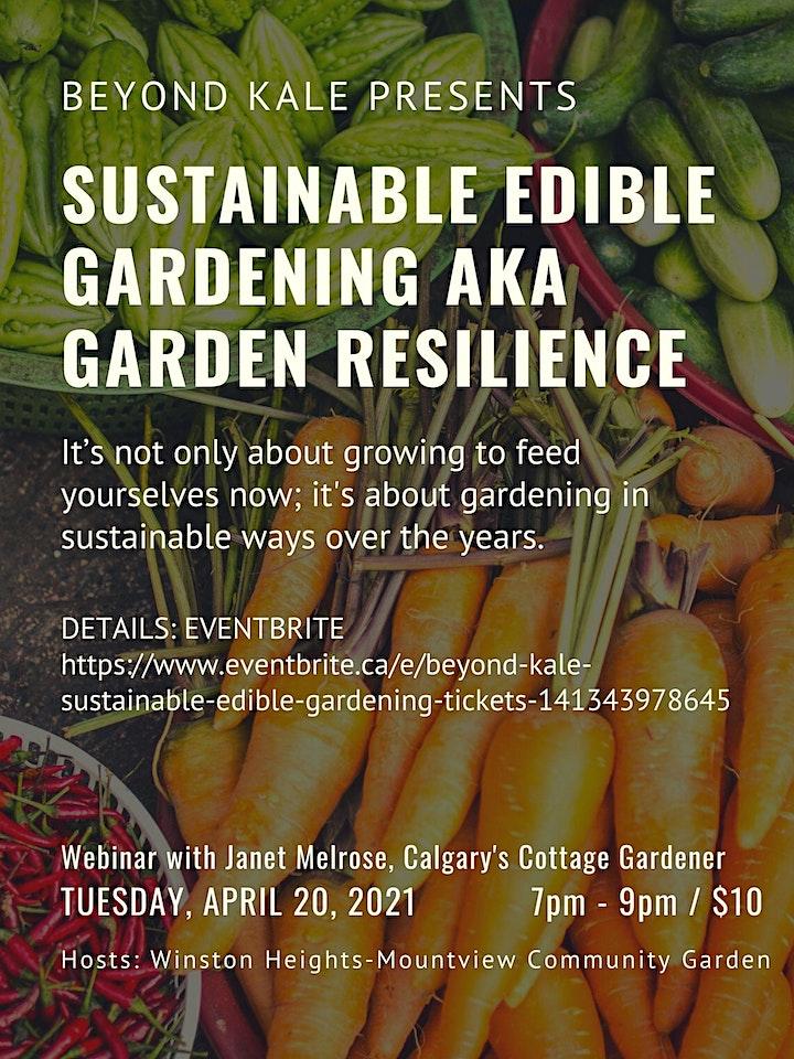 Beyond Kale - Sustainable Edible Gardening image