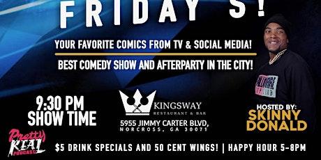 Pretty Funny Friday's! (Free Comedy Night) tickets