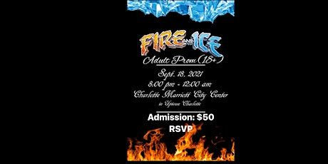Fire and Ice Adult Prom tickets