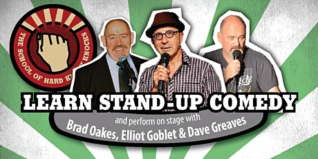 Learn stand-up comedy in Melbourne this May with Elliot Goblet tickets
