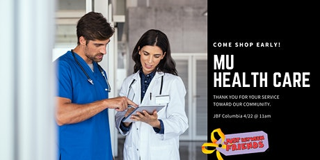 JBF  MU Health Care Presale tickets