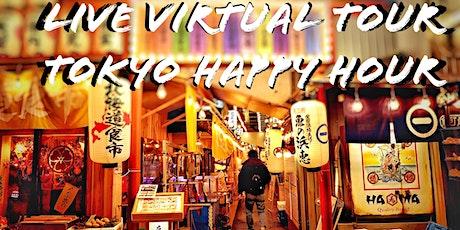 Tokyo Live Virtual Tour - Yakitori Happy Hour tickets