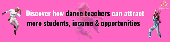 DEVELOP A MAGNETIC PERSONALITY IN 8 HOURS FOR DANCE TEACHERS image