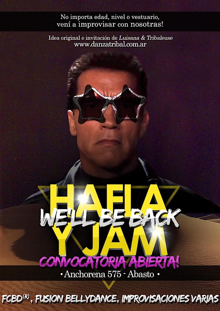 Hafla Y Jam - FCBD® and  Fusion Bellydance in Buenos Aires image