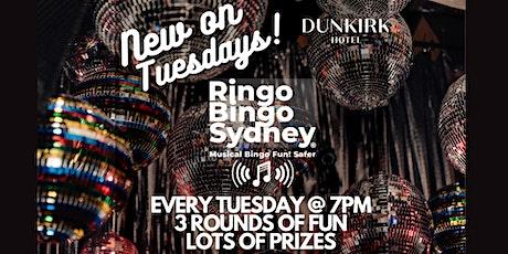 RINGO BINGO at the DUNKIRK HOTEL TUESDAYS Pyrmont tickets