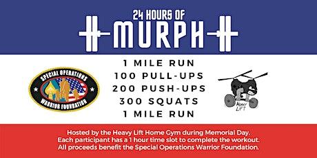 24 Hours of Murph tickets