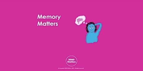 Memory Matters tickets