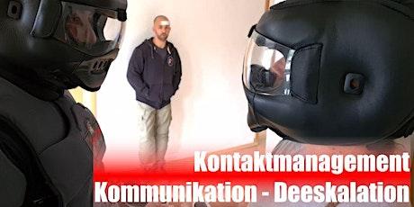 SC Int'l - Kontaktmanagement - Kommunikation - Deeskalation (Webinar) Tickets