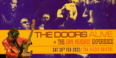 The Doors Alive + The Gimi Hendrix Experience tickets