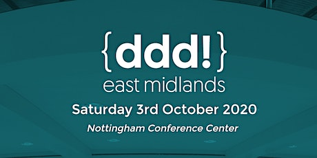 DDD East Midlands 2021 tickets