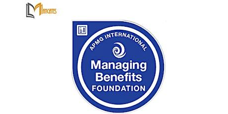 Managing Benefits™ Foundation 3 Days Virtual Live Training in Edmonton tickets