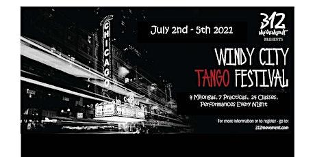 WINDY city TANGO FESTIVAL tickets