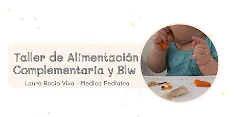 Taller de Alimentacion Complementaria y BLW entradas