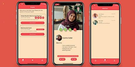 Online Muslim Singles Event 25 -40 UK tickets
