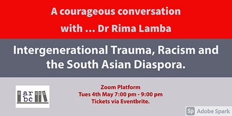 A Courageous Conversation with ... Dr Rima Lamba tickets