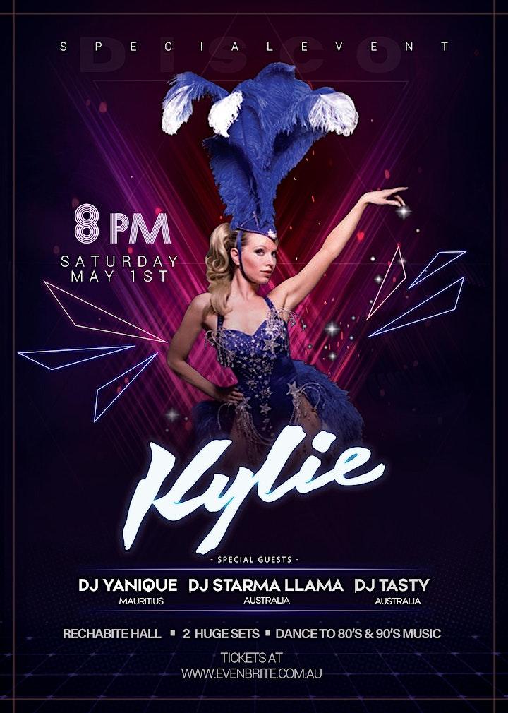 Live Kylie Tribute Concert & Dance Party image