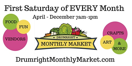 Drumright Monthly Market tickets