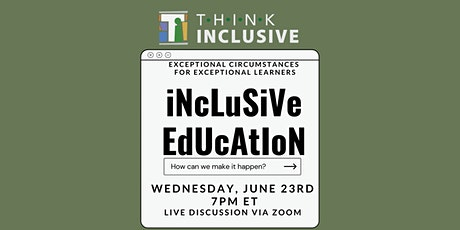 Inclusive Education: How can we make it happen? tickets