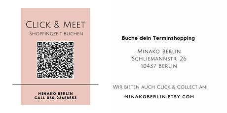 Click & Meet - Minako Berlin (Stoffladen, Bobbiny Makramee Garn) Tickets
