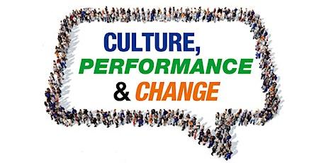 Culture, Performance & Change Free Webinar tickets