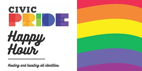 CivicPride Quarterly Happy Hours tickets