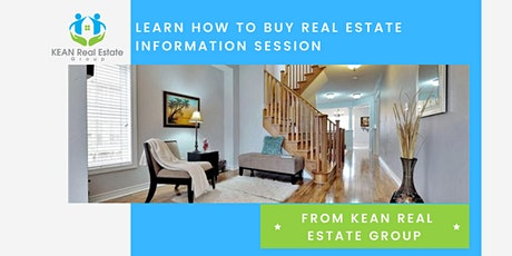 Learn How to Buy Real Estate  Information Session tickets