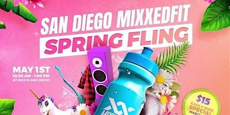 Mixxedfit San Diego Spring Fling boletos