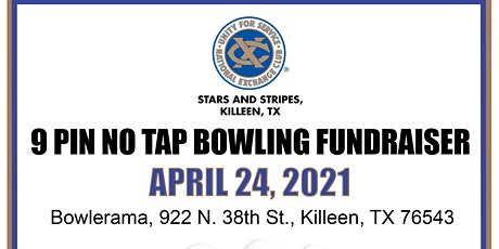 Stars and Stripes Exchange Club Child Abuse Awareness Bowling Fundraiser tickets