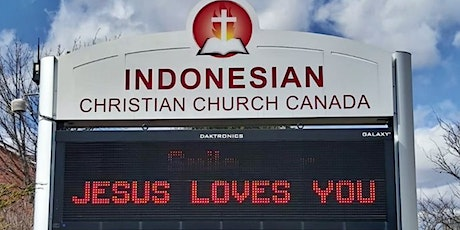 Indonesian Christian Church Sunday Service tickets