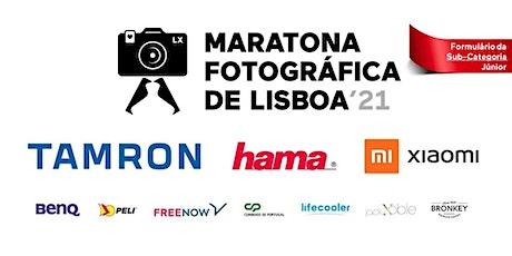 JÚNIOR Inscrição Oficial | Maratona Fotográfica de Lisboa - 2021 bilhetes