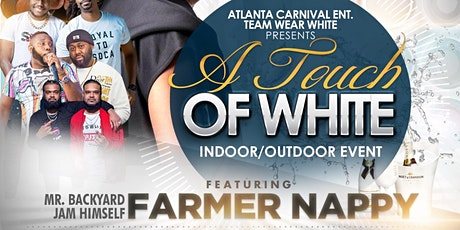 A Touch of White featuring Farmer Nappy tickets