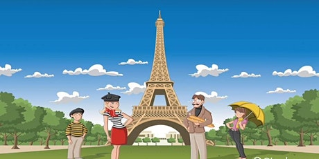English for Kids - Around the World: France (5yrs+) with CAROL tickets
