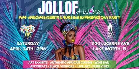 Jollof & Wine: The Pan African Exhibits & Bush Bar Experience tickets