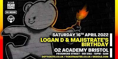 Logan D & Majistrate's Birthday Poster