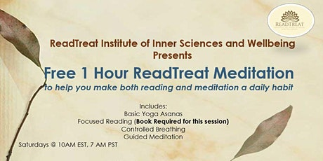 Free 1 Hour Online ReadTreat Meditation Session tickets
