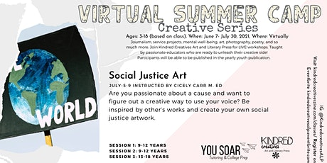 Summer Virtual Camp Series:  Social Justice Art tickets
