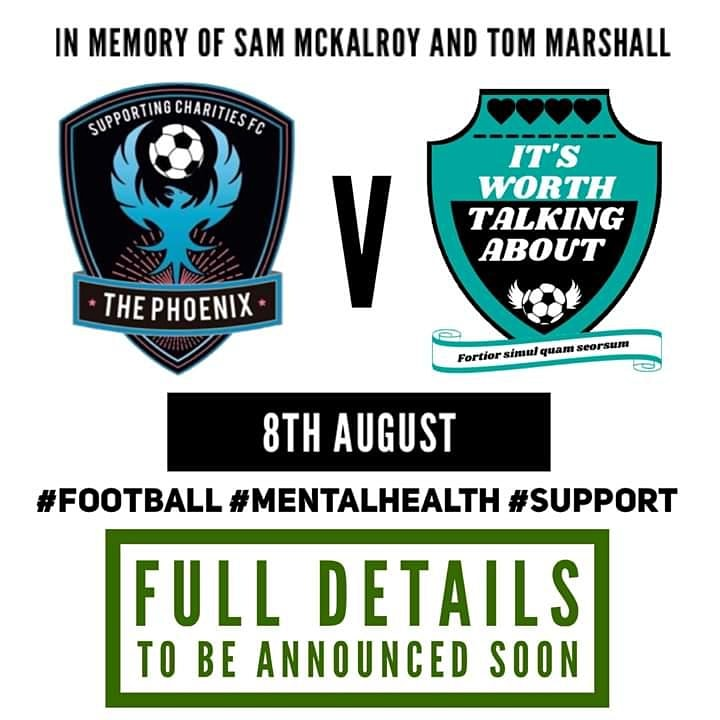 It's Worth Talking About FC vs Supporting Charities FC image