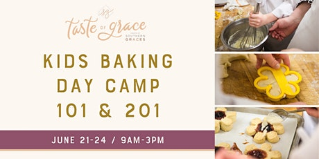 Baking Day Camp 101 & 201    June 21-24 (ages 7-9 & 10-14) tickets