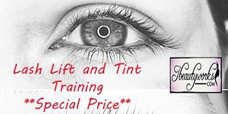 Best Choice:  Lash Lift and Tint Training Houston Texas tickets