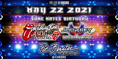 The Rolling Stones / Journey / Pat Benatar Tribute Bands tickets