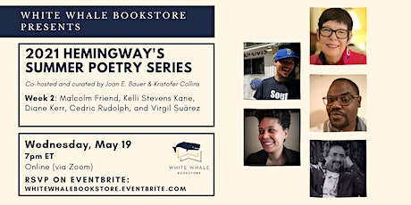 Hemingway's Poetry Series: Friend, Kane, Kerr, Rudolph, Suárez tickets