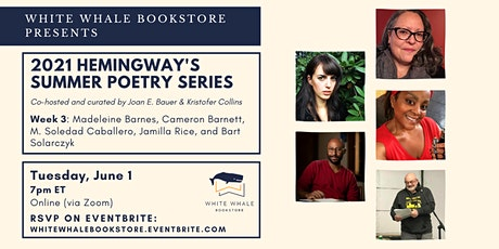 Hemingway's Poetry Series: Barnes, Barnett, Caballero, Rice, Solarczyk tickets