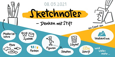 1-tägiger Online Workshop: Sketchnotes - Denken mit Stift tickets