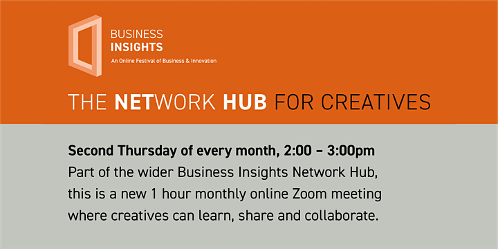 THE NETWORK HUB FOR CREATIVES -  14th October 2021 image