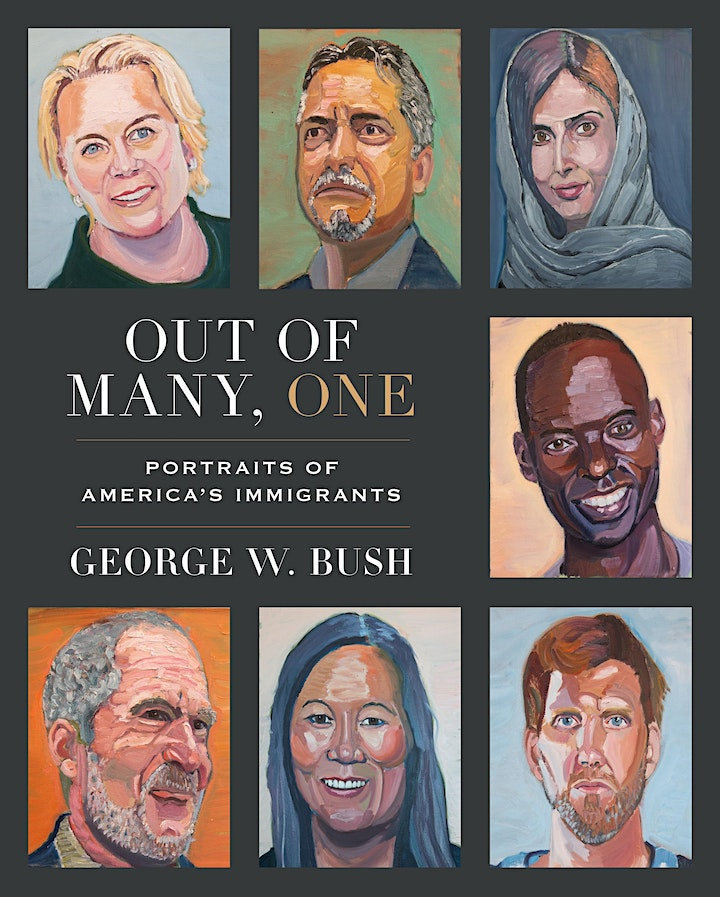 B&N Virtually Presents:  President Bush to discuss OUT OF  MANY, ONE image