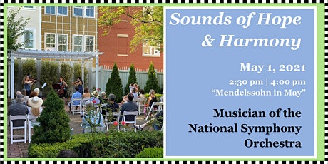 """Sounds of Hope & Harmony: """"Mendelssohn in May"""" – Chamber Music tickets"""